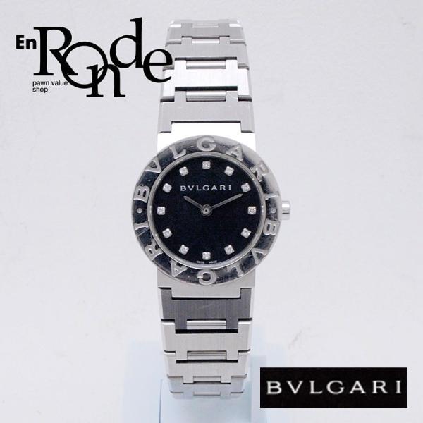 ブルガリ BVLGARI レディース時計 ブルガリ ブルガリ BB26SS SS/12PD ブラック文字盤 中古 新入荷 おすすめ|ronde