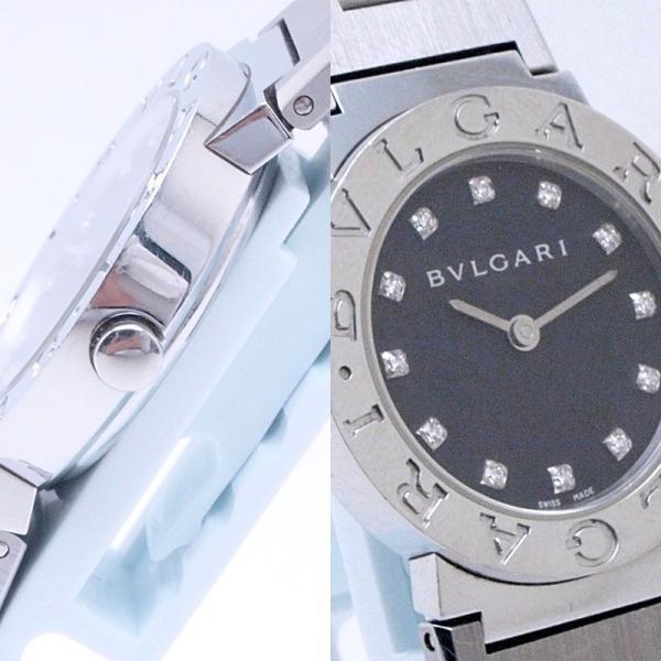ブルガリ BVLGARI レディース時計 ブルガリ ブルガリ BB26SS SS/12PD ブラック文字盤 中古 新入荷 おすすめ|ronde|05