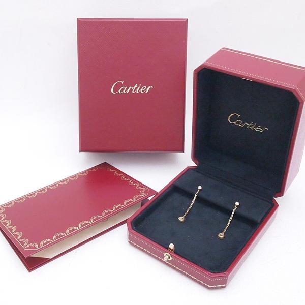カルティエ Cartier ピアスイヤリング ピアス ラブチェーン K18/ダイヤ ゴールド 中古 新入荷 おすすめ CA0363 ronde 06