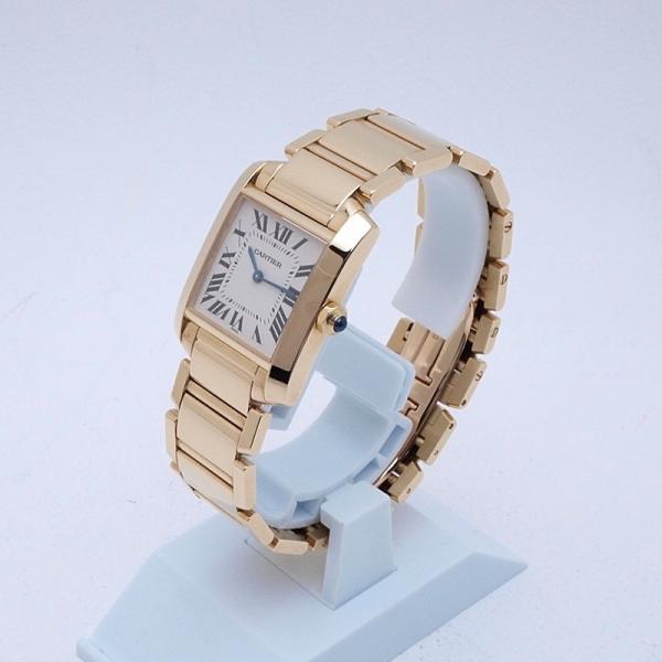 カルティエ Cartier レディース腕時計 タンクフランセーズMM K18YG 白文字盤 中古 新入荷 おすすめ 新着|ronde|02