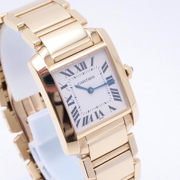 カルティエ Cartier レディース腕時計 タンクフランセーズMM K18YG 白文字盤 中古 新入荷 おすすめ 新着|ronde|06