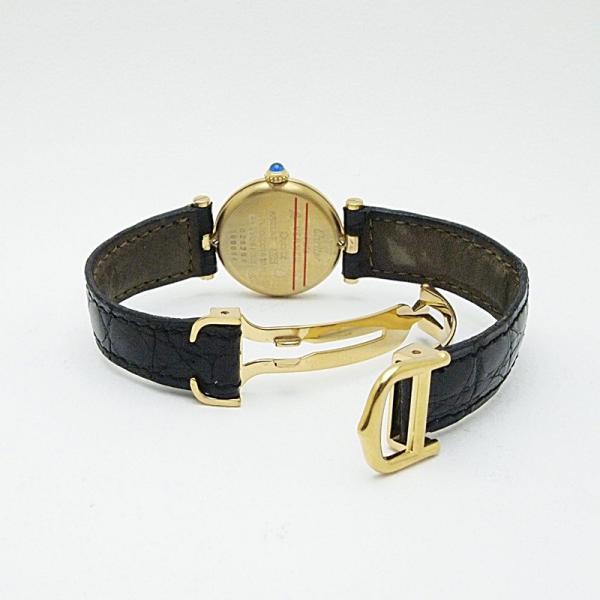 カルティエ Cartier レディース腕時計 マスト ヴェルメイユ SV(シルバー)/革 白文字盤 中古 新入荷 おすすめ|ronde|04