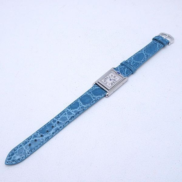 カルティエ Cartier レディース腕時計 タンク・バスキュラント SS/革 アイボリー文字盤 中古 新入荷 おすすめ|ronde|02