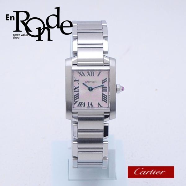 カルティエ Cartier レディース腕時計 タンクフランセーズSM SS(ステンレス) シルバー文字盤 中古 新入荷 おすすめ 新着|ronde
