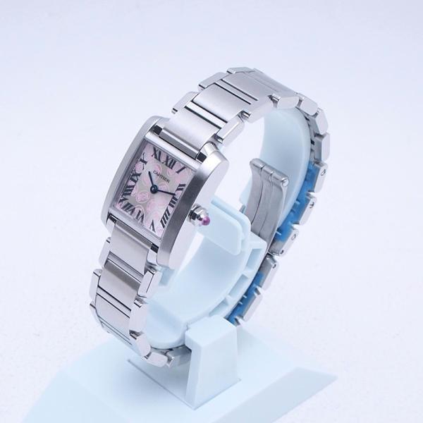 カルティエ Cartier レディース腕時計 タンクフランセーズSM SS(ステンレス) シルバー文字盤 中古 新入荷 おすすめ 新着|ronde|02