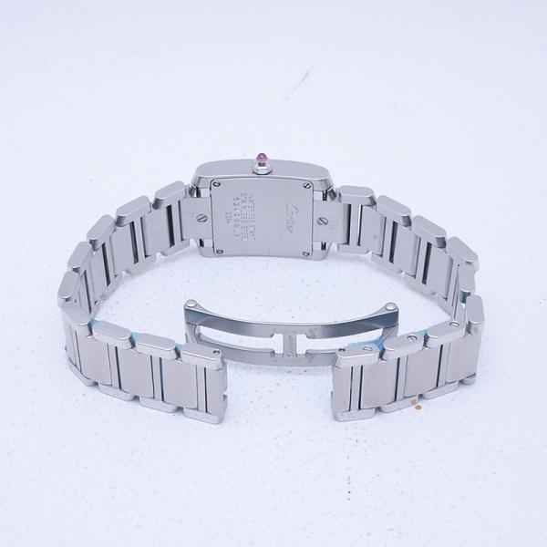 カルティエ Cartier レディース腕時計 タンクフランセーズSM SS(ステンレス) シルバー文字盤 中古 新入荷 おすすめ 新着|ronde|04