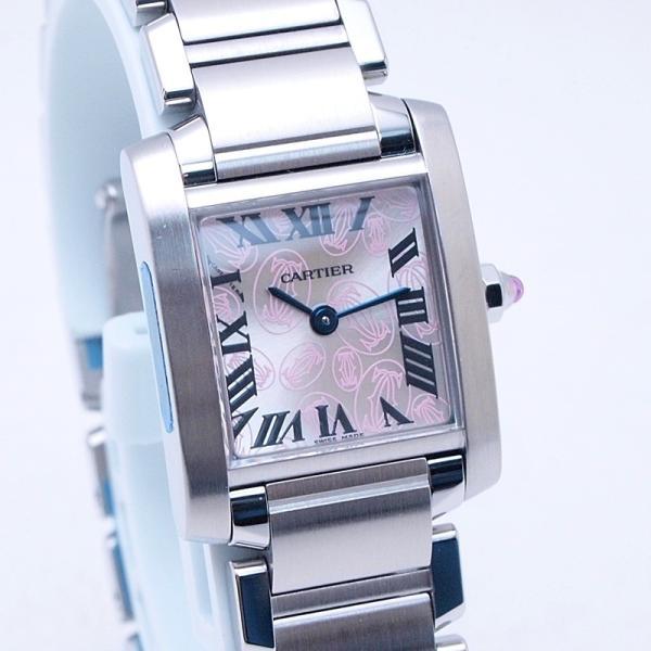 カルティエ Cartier レディース腕時計 タンクフランセーズSM SS(ステンレス) シルバー文字盤 中古 新入荷 おすすめ 新着|ronde|06