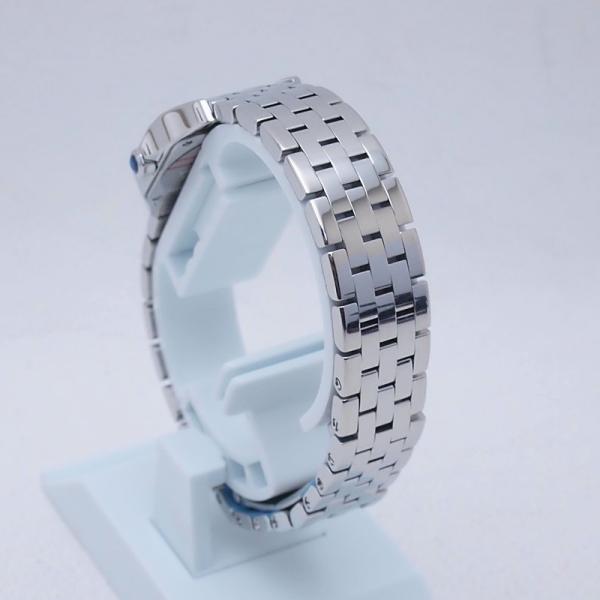 カルティエ Cartier レディース腕時計 サントス ドゥモワゼル SS(ステンレス) アイボリー文字盤 中古 新入荷 おすすめ CA0364|ronde|03