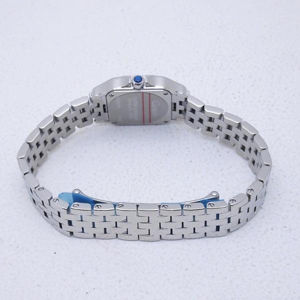 カルティエ Cartier レディース腕時計 サントス ドゥモワゼル SS(ステンレス) アイボリー文字盤 中古 新入荷 おすすめ CA0364|ronde|04