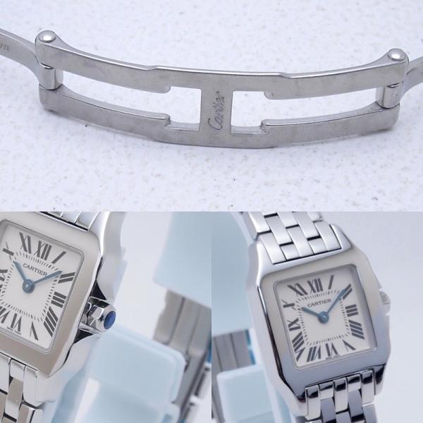 カルティエ Cartier レディース腕時計 サントス ドゥモワゼル SS(ステンレス) アイボリー文字盤 中古 新入荷 おすすめ CA0364|ronde|05