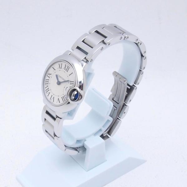 カルティエ Cartier レディース腕時計 バロンブルーSM W69010Z4 SS(ステンレス) シルバー文字盤 中古 新入荷 おすすめ CA0360 ronde 02