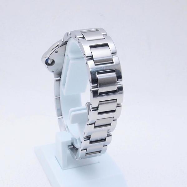 カルティエ Cartier レディース腕時計 バロンブルーSM W69010Z4 SS(ステンレス) シルバー文字盤 中古 新入荷 おすすめ CA0360 ronde 03