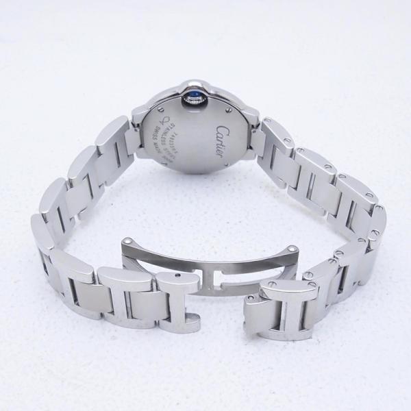 カルティエ Cartier レディース腕時計 バロンブルーSM W69010Z4 SS(ステンレス) シルバー文字盤 中古 新入荷 おすすめ CA0360 ronde 04