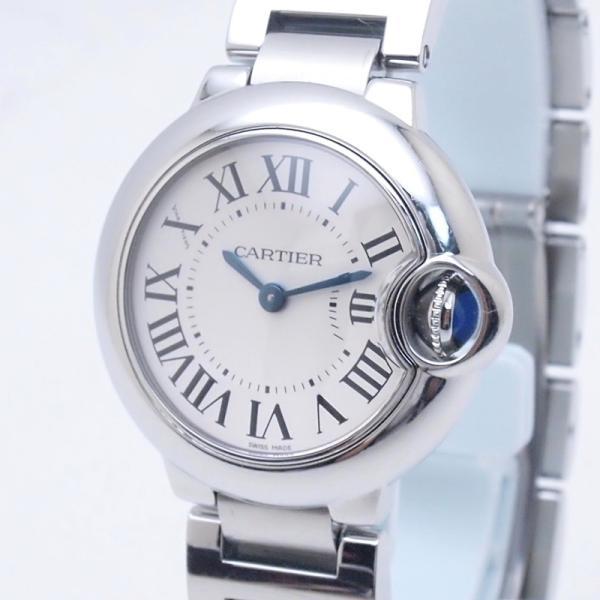 カルティエ Cartier レディース腕時計 バロンブルーSM W69010Z4 SS(ステンレス) シルバー文字盤 中古 新入荷 おすすめ CA0360 ronde 05