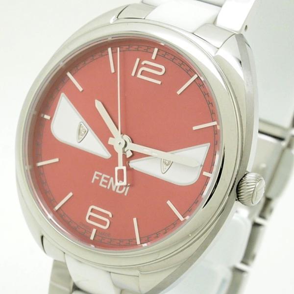 フェンディ レディース腕時計 バグズモンスター 003-21000M-819 SS/ダイヤ オレンジ文字盤 中古 新入荷 おすすめ OW0197 新着|ronde|05