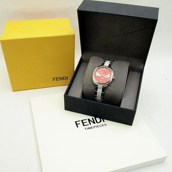 フェンディ レディース腕時計 バグズモンスター 003-21000M-819 SS/ダイヤ オレンジ文字盤 中古 新入荷 おすすめ OW0197 新着|ronde|06