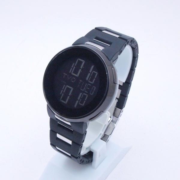 グッチ GUCCI メンズ腕時計 Iグッチ SS/ラバー 黒文字盤 中古 新入荷 おすすめ|ronde|02