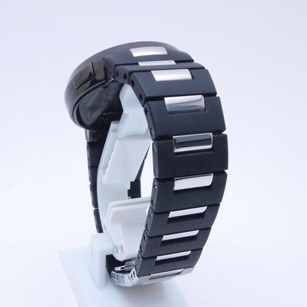 グッチ GUCCI メンズ腕時計 Iグッチ SS/ラバー 黒文字盤 中古 新入荷 おすすめ|ronde|03