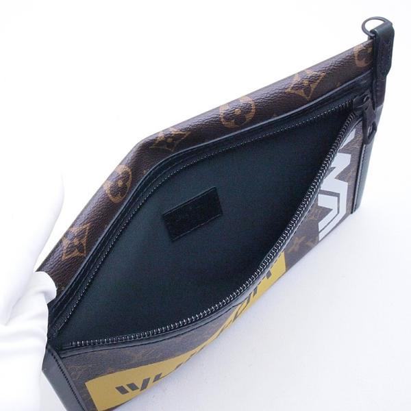 ルイ・ヴィトン LOUISVUITTON ショルダーバッグ フラットメッセンジャー M44641 コーティングキャンバス モノグラムマロン 新品同様 新入荷 おすすめ|ronde|04
