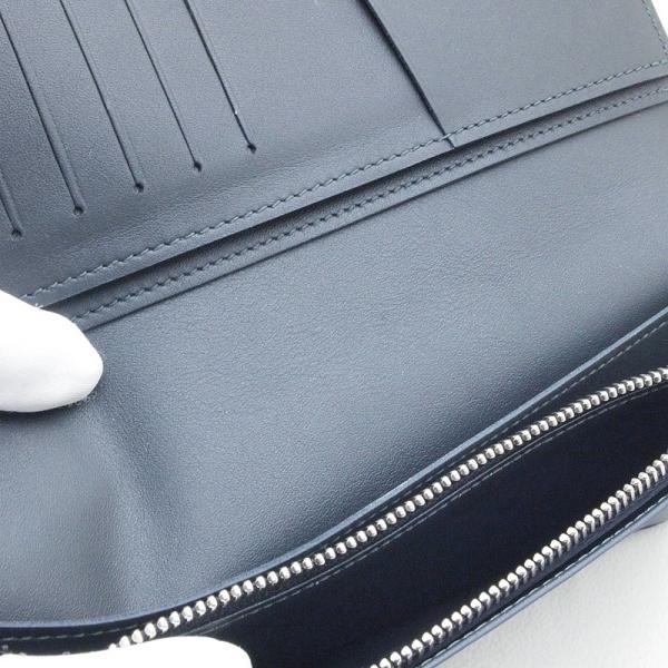 ルイ・ヴィトン LOUISVUITTON 長財布 ブラザ N63212 コーティングレザー ダミエ コバルト 中古 おすすめ|ronde|05