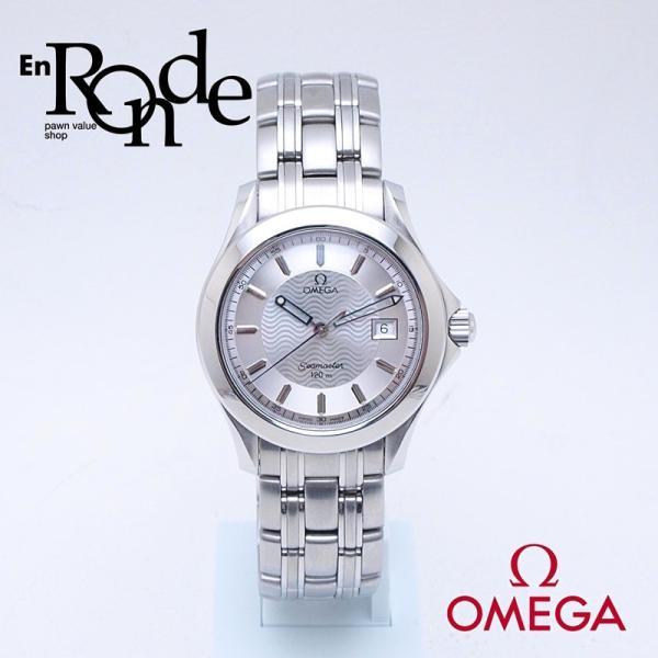 オメガ OMEGA メンズ腕時計 シーマスター120 SS シルバー文字盤 中古 新入荷 おすすめ ronde