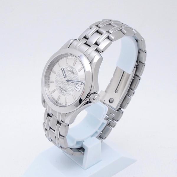 オメガ OMEGA メンズ腕時計 シーマスター120 SS シルバー文字盤 中古 新入荷 おすすめ ronde 02