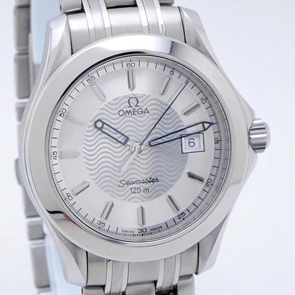 オメガ OMEGA メンズ腕時計 シーマスター120 SS シルバー文字盤 中古 新入荷 おすすめ ronde 06