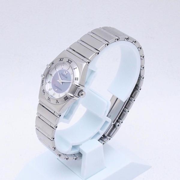 オメガ OMEGA レディース腕時計 コンステレーションミニ 1562-84 SS(ステンレス) シェル文字盤 中古 新入荷 おすすめ OW0190 新着|ronde|02