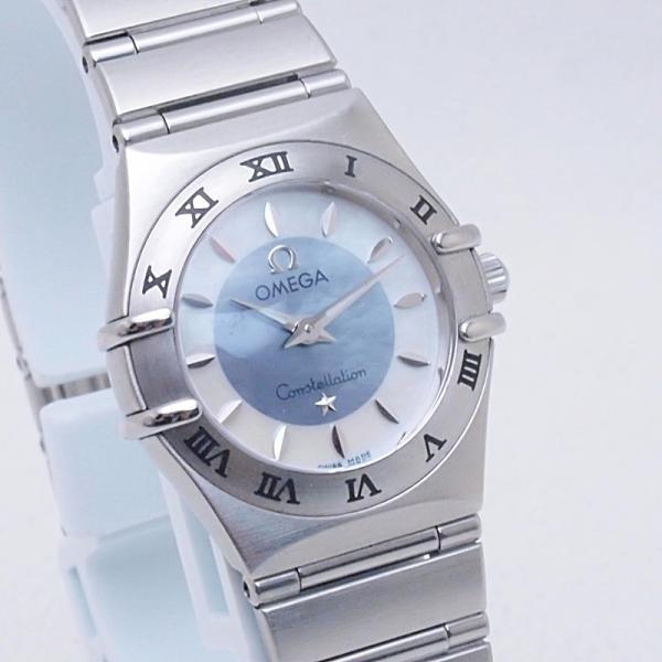 オメガ OMEGA レディース腕時計 コンステレーションミニ 1562-84 SS(ステンレス) シェル文字盤 中古 新入荷 おすすめ OW0190 新着|ronde|05