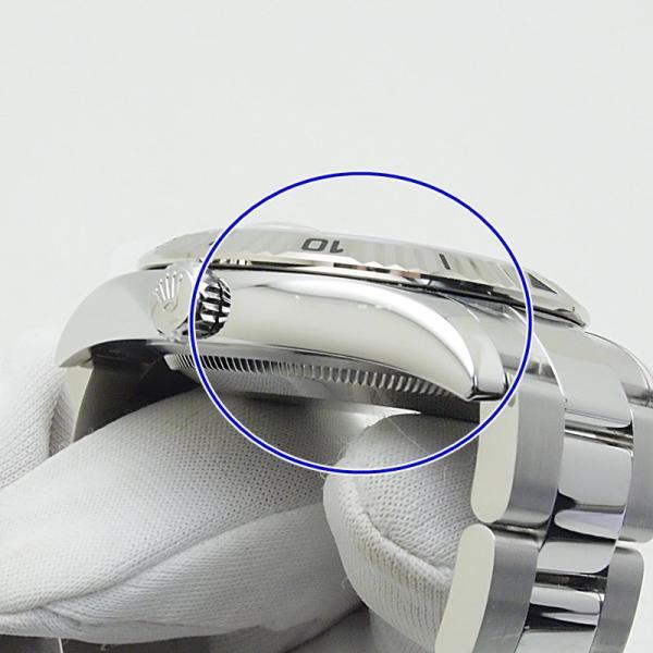 ロレックス ROLEX メンズ腕時計 デイトジャスト ターノグラフ 116264 SS(ステンレス) ホワイト文字盤 中古 新入荷 おすすめ RO0170 新着 ronde 05