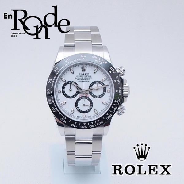 size 40 fff47 51e96 ロレックス ROLEX メンズ腕時計 デイトナ 116500LN SS(ステンレス) ホワイト文字盤 中古 新入荷 おすすめ