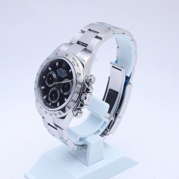 ロレックス ROLEX メンズ腕時計 デイトナ 116520 SS(ステンレス) ブラック文字盤 中古 新入荷 おすすめ|ronde|02