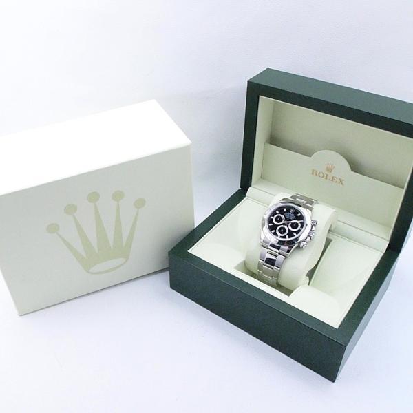 ロレックス ROLEX メンズ腕時計 デイトナ 116520 SS(ステンレス) ブラック文字盤 中古 新入荷 おすすめ|ronde|06