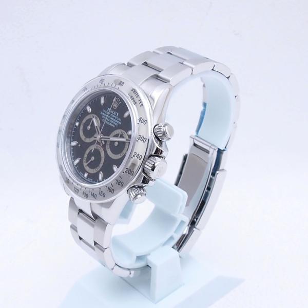 ロレックス ROLEX メンズ腕時計 デイトナ 116520 SS(ステンレス) ブラック文字盤 中古 新入荷 おすすめ RO0172 新着|ronde|02