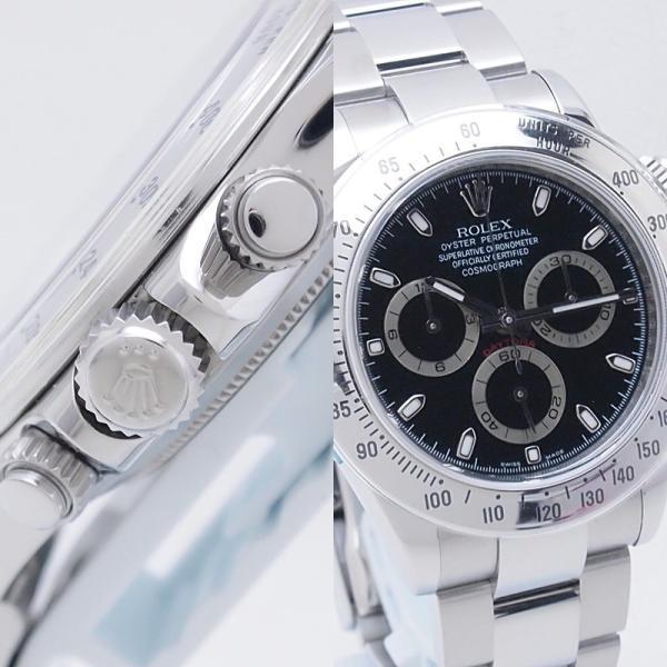 ロレックス ROLEX メンズ腕時計 デイトナ 116520 SS(ステンレス) ブラック文字盤 中古 新入荷 おすすめ RO0172 新着|ronde|05