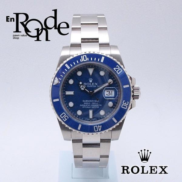ロレックス ROLEX メンズ腕時計 サブマリーナ 116619LB K18WG ブルー文字盤 中古 新入荷 おすすめ|ronde
