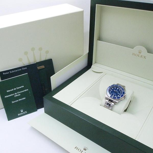 ロレックス ROLEX メンズ腕時計 サブマリーナ 116619LB K18WG ブルー文字盤 中古 新入荷 おすすめ|ronde|06