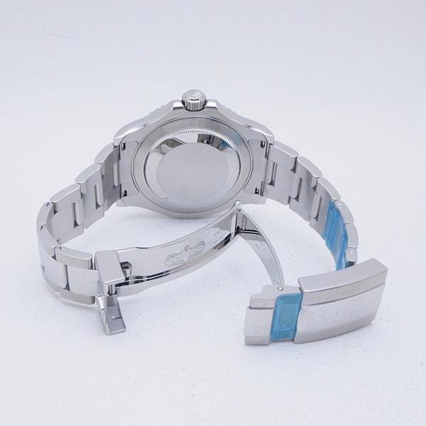 ロレックス ROLEX メンズ腕時計 ヨットマスター 116622 SS/Pt ブルー文字盤 中古 新入荷 新着|ronde|04