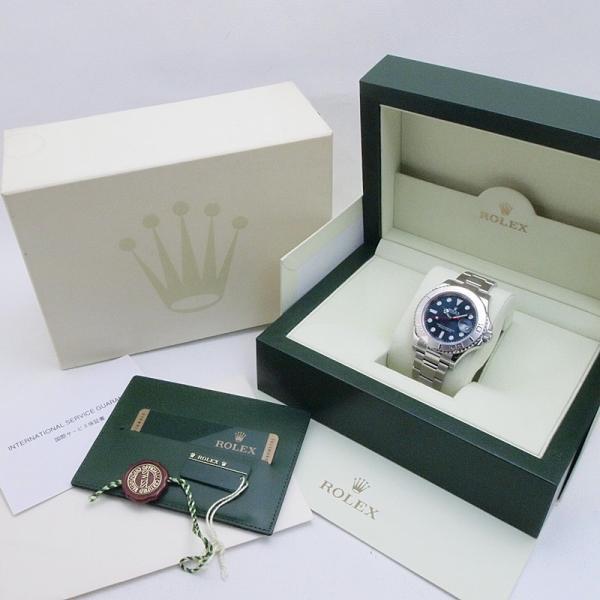 ロレックス ROLEX メンズ腕時計 ヨットマスター 116622 SS/Pt ブルー文字盤 中古 新入荷 新着|ronde|06