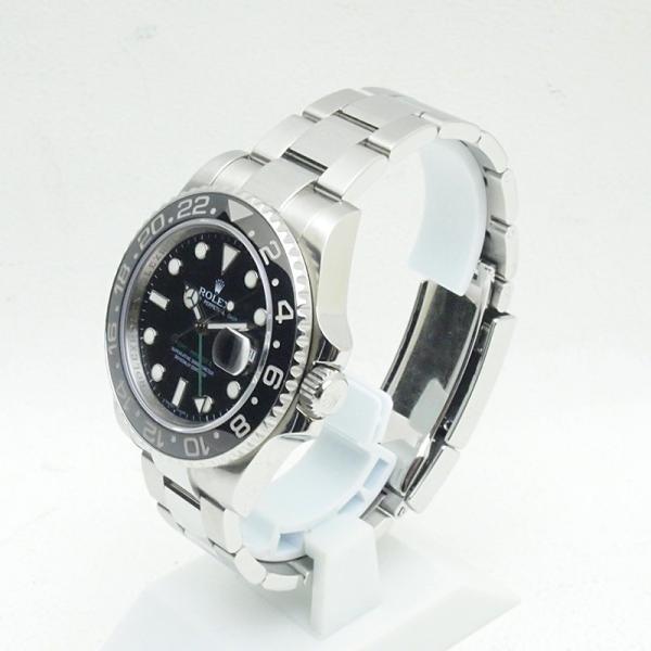 ロレックス ROLEX メンズ腕時計 GMTマスターII 116710LN SS(ステンレス) ブラック文字盤 中古 新入荷 おすすめ RO0157|ronde|02