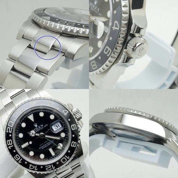 ロレックス ROLEX メンズ腕時計 GMTマスターII 116710LN SS(ステンレス) ブラック文字盤 中古 新入荷 おすすめ RO0157|ronde|05