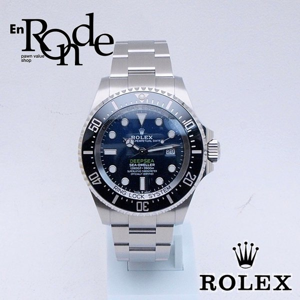ロレックス ROLEX メンズ腕時計 シードウェラー ディープシー Dブルー 126660 SS(ステンレス) ブルー文字盤 中古 新入荷 おすすめ|ronde