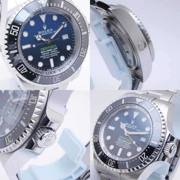 ロレックス ROLEX メンズ腕時計 シードウェラー ディープシー Dブルー 126660 SS(ステンレス) ブルー文字盤 中古 新入荷 おすすめ|ronde|05