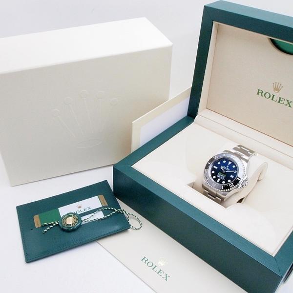 ロレックス ROLEX メンズ腕時計 シードウェラー ディープシー Dブルー 126660 SS(ステンレス) ブルー文字盤 中古 新入荷 おすすめ|ronde|06