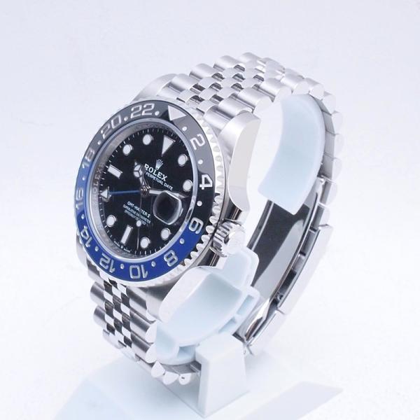 ロレックス ROLEX メンズ腕時計 GMTマスターII ジュビリーブレスレット 126710BLNR SS ブラック文字盤 新品同様 新入荷 おすすめ 新着|ronde|02