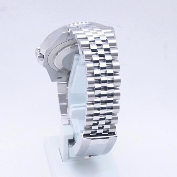 ロレックス ROLEX メンズ腕時計 GMTマスターII ジュビリーブレスレット 126710BLNR SS ブラック文字盤 新品同様 新入荷 おすすめ 新着|ronde|03