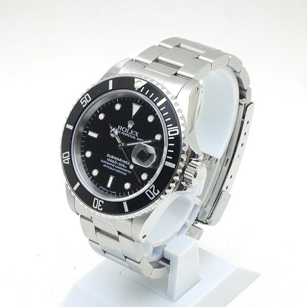 ロレックス ROLEX メンズ腕時計 サブマリーナ 16610 SS(ステンレス) ブラック文字盤 中古 新入荷 おすすめ 新着 ronde 02