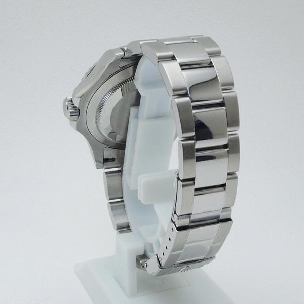 ロレックス ROLEX メンズ腕時計 ヨットマスター ロレジウム 16622 SS/Pt シルバー文字盤 中古 新入荷 おすすめ|ronde|03