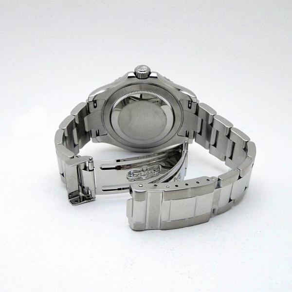 ロレックス ROLEX メンズ腕時計 ヨットマスター ロレジウム 16622 SS/Pt シルバー文字盤 中古 新入荷 おすすめ|ronde|04