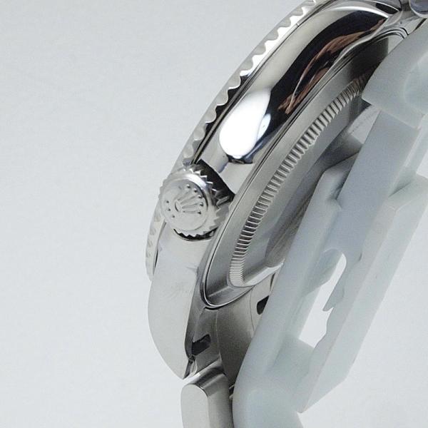 ロレックス ROLEX メンズ腕時計 ヨットマスター ロレジウム 16622 SS/Pt シルバー文字盤 中古 新入荷 おすすめ|ronde|05